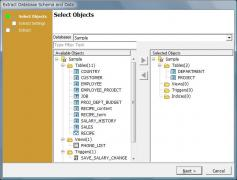Extract Database Schema and Data Wizard
