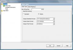 SQLite Native DateFormat